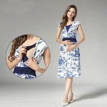 summer Maternity Clothes Maternity Dresses Nursing pregnant dress Breastfeeding Nursing Clothes for pregnant women top quality