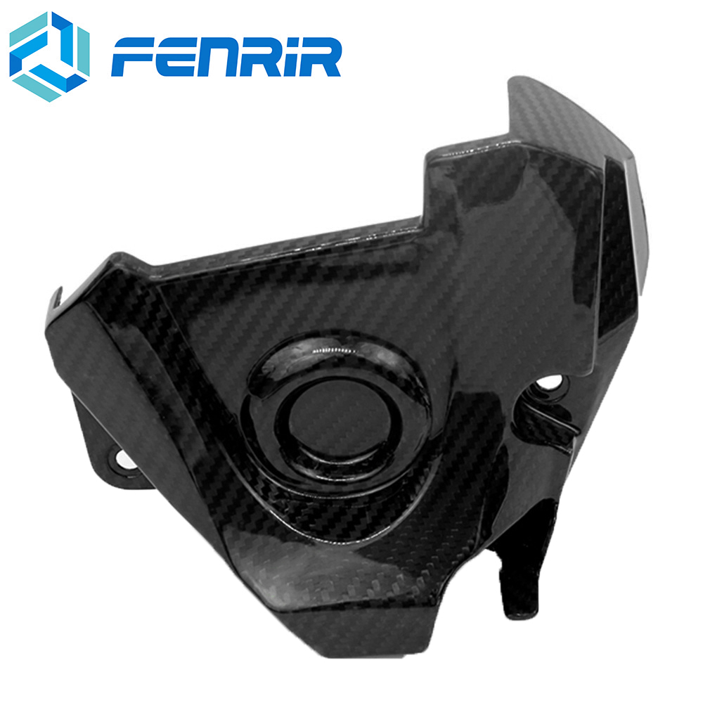 FENRIR Carbon Fiber Motorcycle Full Fairing Kits Clutch Cover Protection Cap for Yamaha MT09 FZ09 MT-09 FZ-09FENRIR Carbon Fiber Motorcycle Full Fairing Kits Clutch Cover Protection Cap for Yamaha MT09 FZ09 MT-09 FZ-09