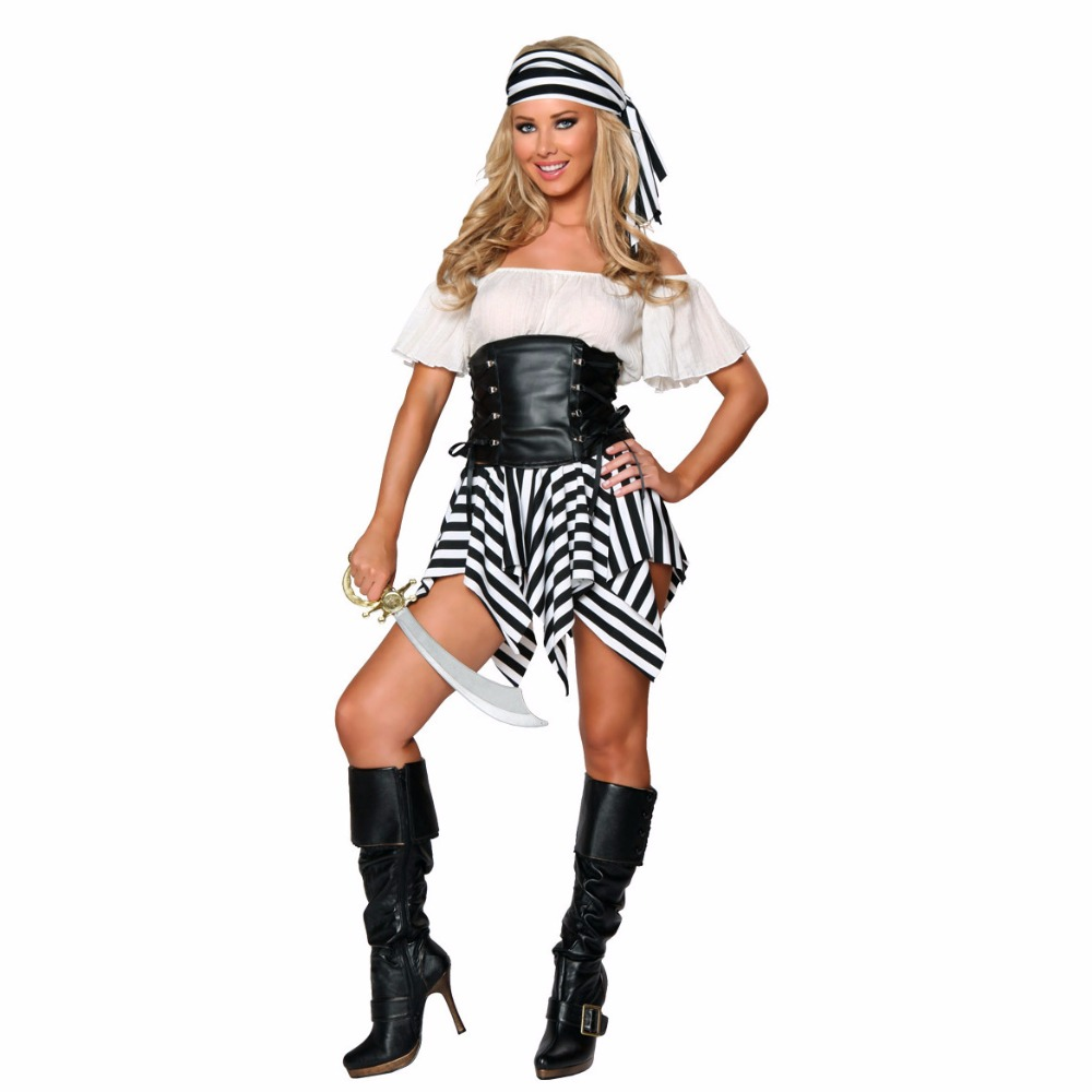 aliexpresscom buy pirate halloween costumes2017 caribbean spanish pirate costume woman fancy dress cosplay for women female fancy dress cosplay from - Pirate Halloween Costume For Women