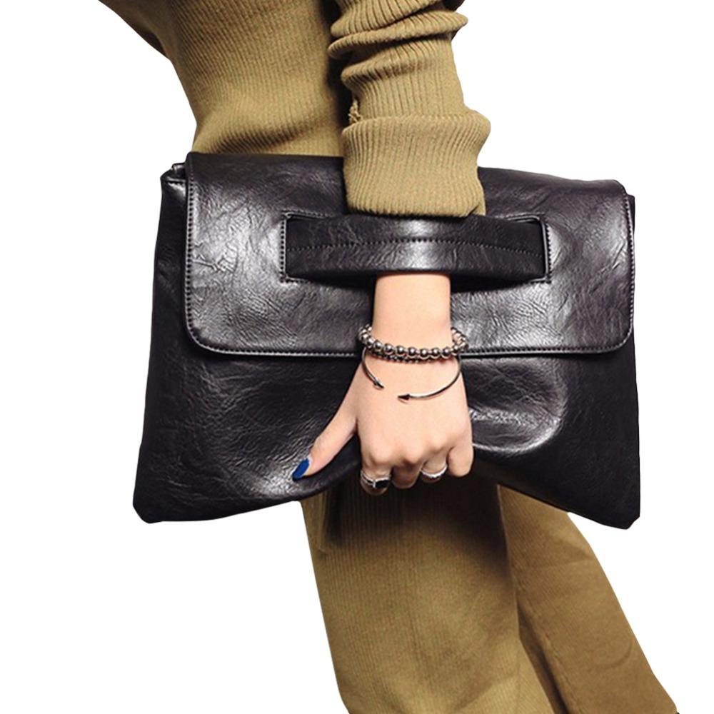 Fashion Envelope Clutch Bag Women Crossbody Bag Party Evening Vintage Women Leather Handbags Messenger Bag Ladies Day Clutches
