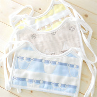 3pcs Baby Boy Cotton Waterproof Bib Cartoon Print Baby Things Mouthwatering Towel For Newborns Infant Girls