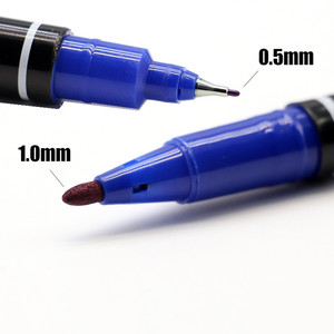 Image 5 - 3/5PCS Tattoo Marker Pens Skin Markers Fine Point Large Capacity Ink 0.5mm & 1mm Scribe Tool Good Waterproof Ink Tattoo Supplies