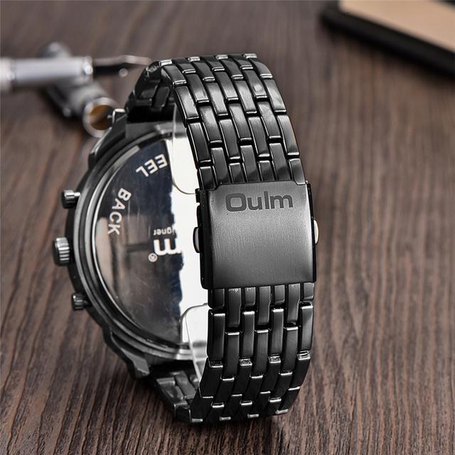 Large Quartz Wrist Watch