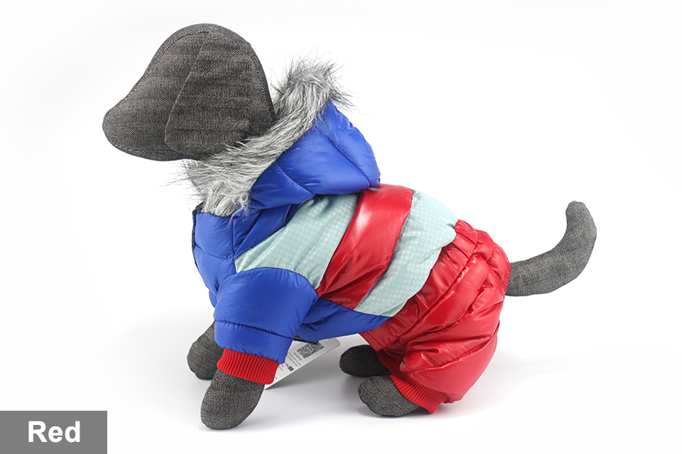 adidog New Winter Pet dog Clothes for Small Medium Dog Pet clothing Coat hoodies Waterproof Super Warm Jacket Snow chihuahua for Winter 415