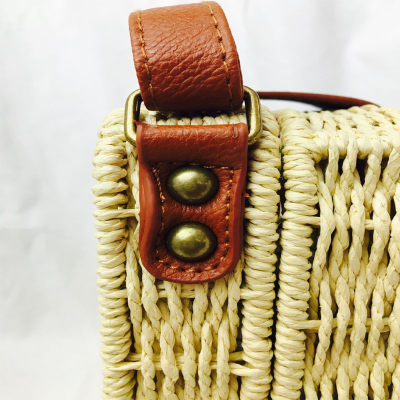 HTB1PR vN9zqK1RjSZPxq6A4tVXaG - Fashion Mini Ladies Shoulder Bags Hand-woven Square Candy Color Straw Bag  Bohemia Beach Bag Vacation Travel Crossbody bag
