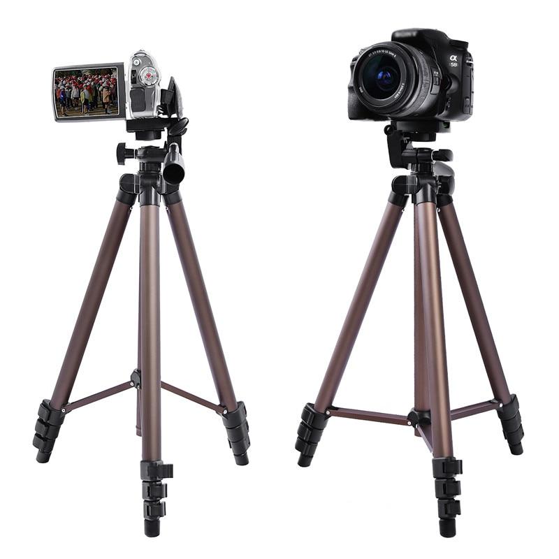 Image 3 - Алюминиевый Треножники из сплава Fusitu WT3130 мини штатив с держателем для смартфона 1/4 винт для DSLR камеры мобильный телефонШтативы    АлиЭкспресс