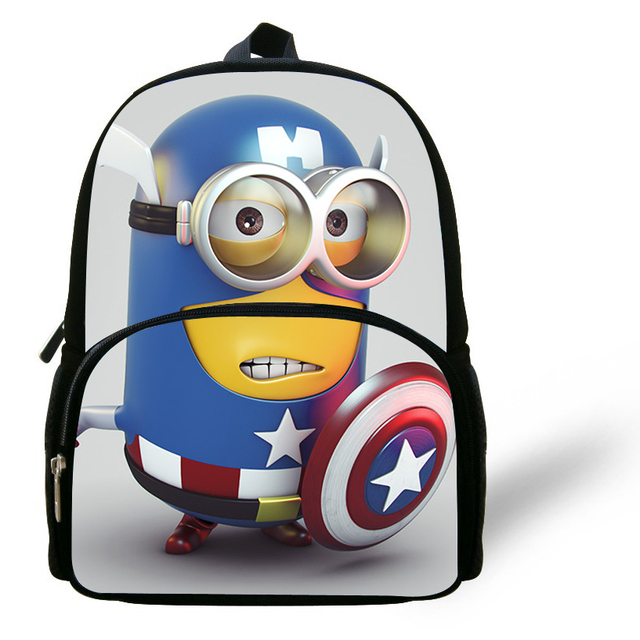 fdc568e586f6 12-inch Mochila Minions Bag Despicable Me Backpack Children School Bags  Boys Mini Kids Bags Girls Bolsa Infantil Menino