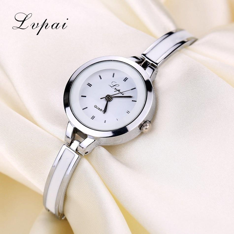 Lvpai brand cheap fashion quartz dress rhinestone watch women watches ladies bracelet dress for Watches brands for lady