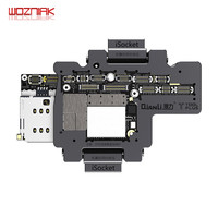WOZNIAK QIANLI iSocket for iPhone x xs / xs max motherboard test fixture For IPHONEX double deck motherboard Function Tester