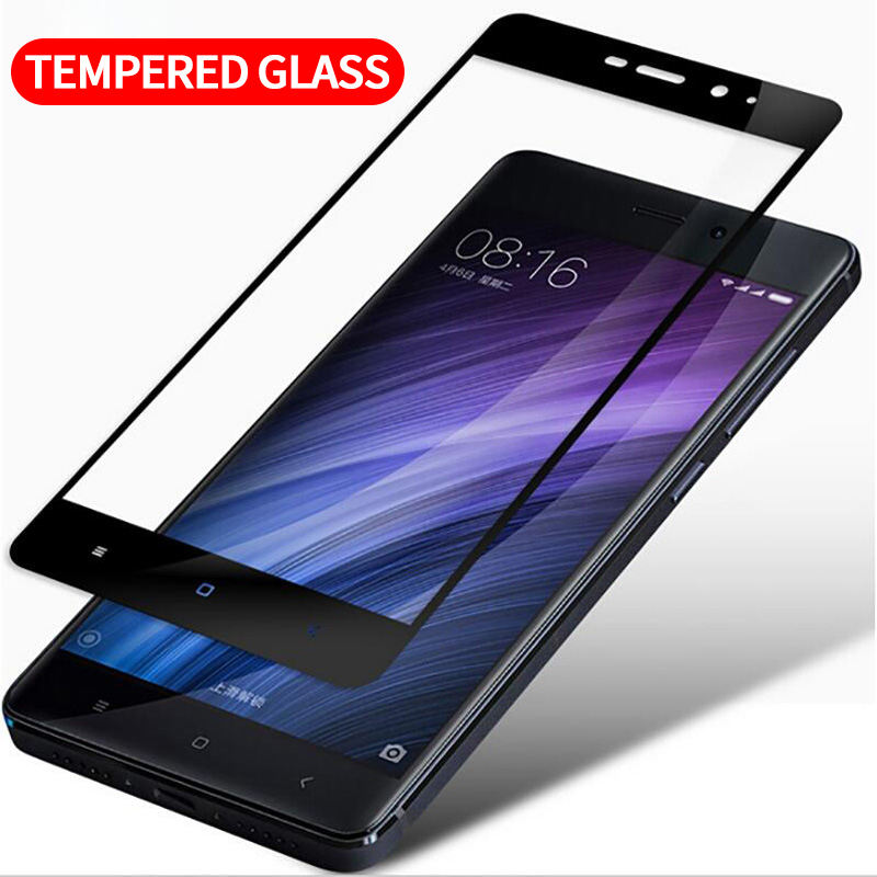 HD Full Cover Tempered Glass For Xiaomi Redmi 4 4X Note 4 4x For MI 5 5C 5s 5s Plus 6 For Redmi 4A 5A Waterproof And Sweatproof