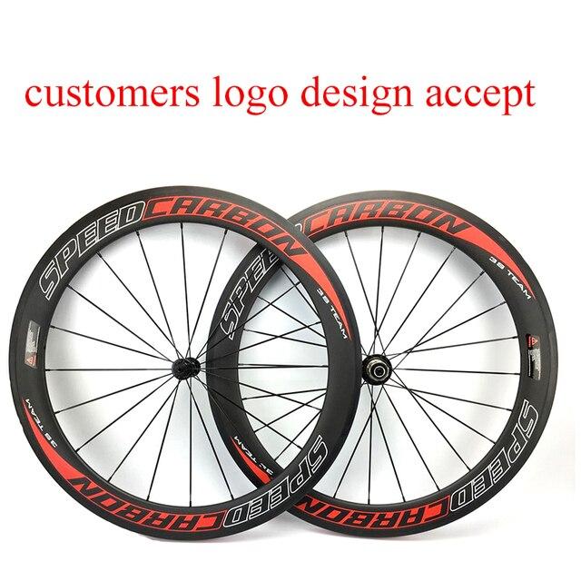 Carbon Fiber Wheels >> Speedcarbon 60mm Carbon Bike Wheels 700c Road Bike Wheel Customers