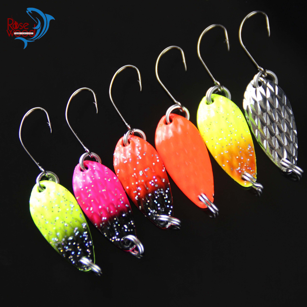 4pcs Brand Spoon Fishing Lure China 3.5g Multi Colors Hard Fishing Spoon Lure Paillette Jigbait Metal Jigging Lure Baits-in Fishing Lures from Sports ...