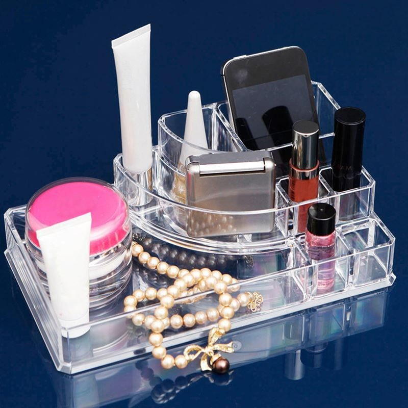 Display Lipstick Holder Acrylic Cosmetic Organizer Stand Clear Makeup  Organizer Storage Container Makeup Case In Storage Boxes U0026 Bins From Home U0026  Garden On ...