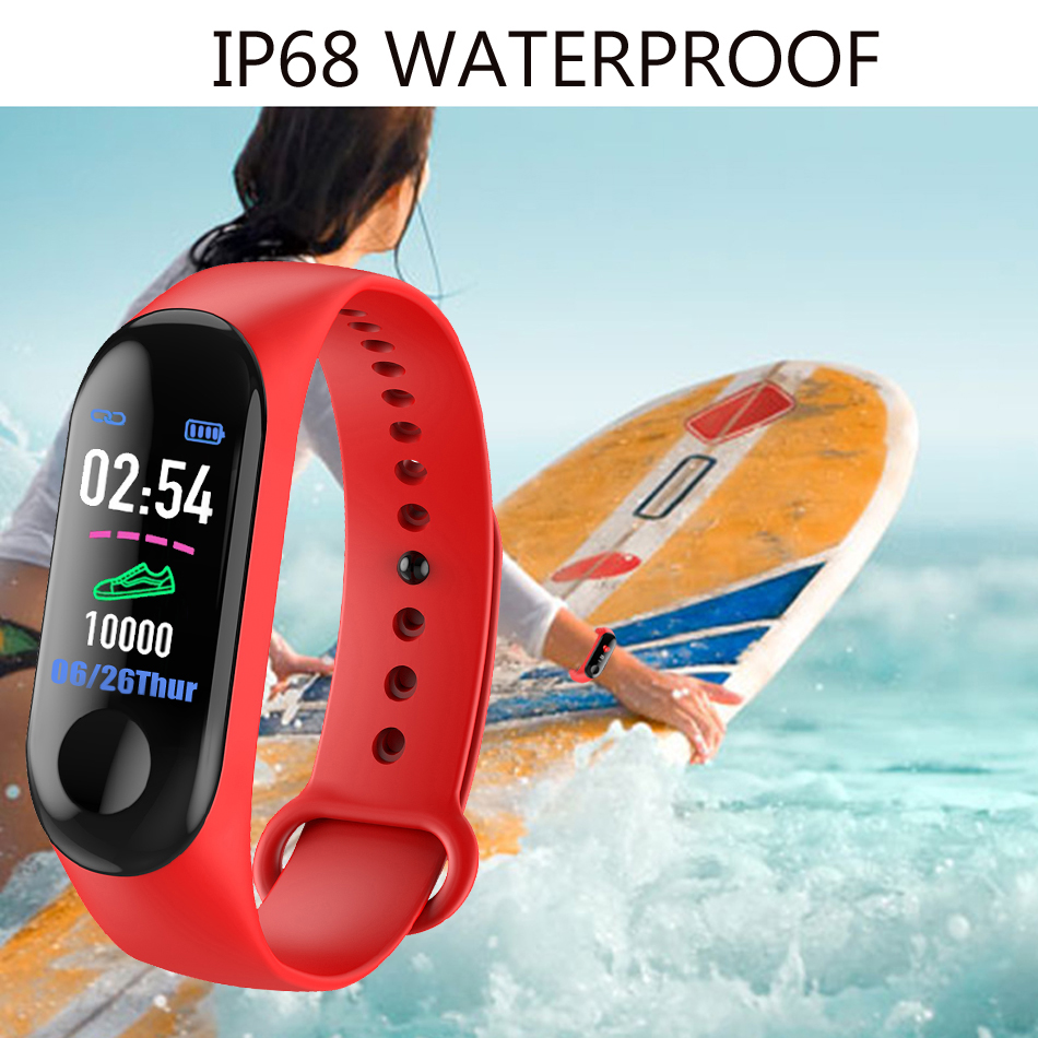 18 New Sport Waterproof Smart Bracelet Blood Pressure Monitor Smart band Fitness Tracker Pedometer Smart Wristband PK mi band 6