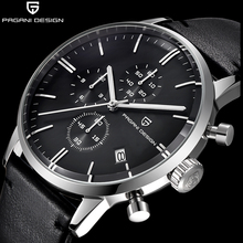 Top Brand Luxury PAGANI Design Chronograph Leather Men's Watches Quartz Fashion Sport Military Wristwatch Men relogio masculino