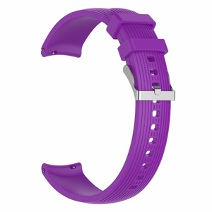 Image 3 - Silicone sports watch strap for Samsung Gear Sport / S2 classic huawei watch2 /watch2 pro Samsung galaxy watch active watchband