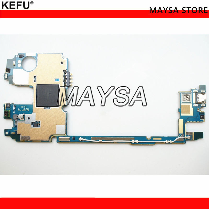 UNLOCKED 32GB work for LG G3 D858 Mainboard,Original for LG G3 D858 32GB Motherboard Test 100% lg смартфон lg g3 s d724