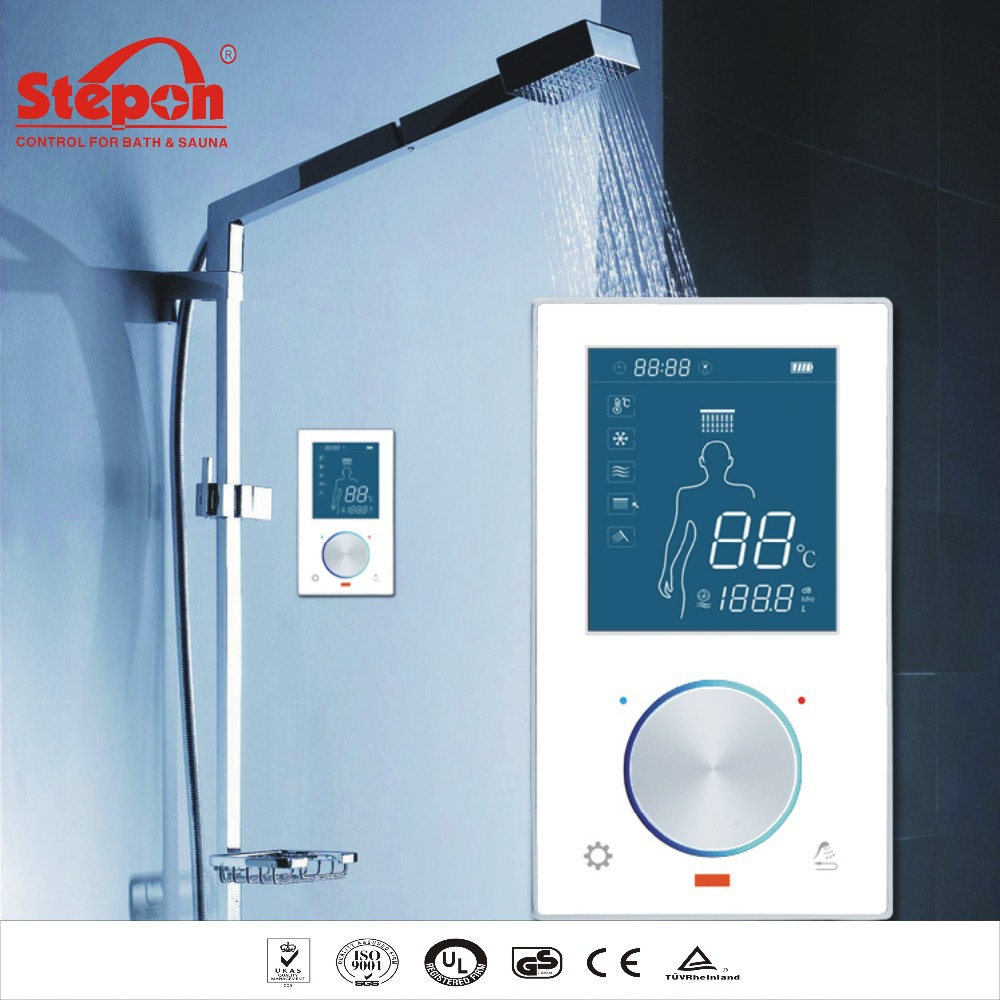 Electric Shower Control System, Digital Thermostatic Shower Controller In  Bathroom Faucet Accessories From Home Improvement On Aliexpress.com |  Alibaba ...