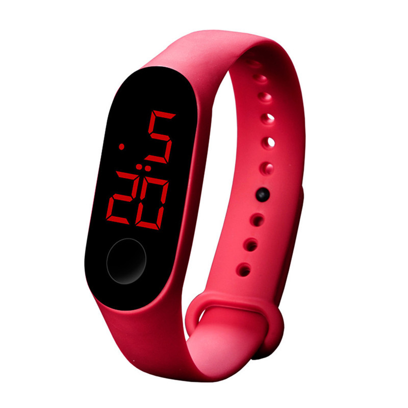 LED Electronic Sports Luminous Sensor Watches Fashion Men And Women Watches Man Woman Casual Watch Clock Digital Lovers' Watch 5