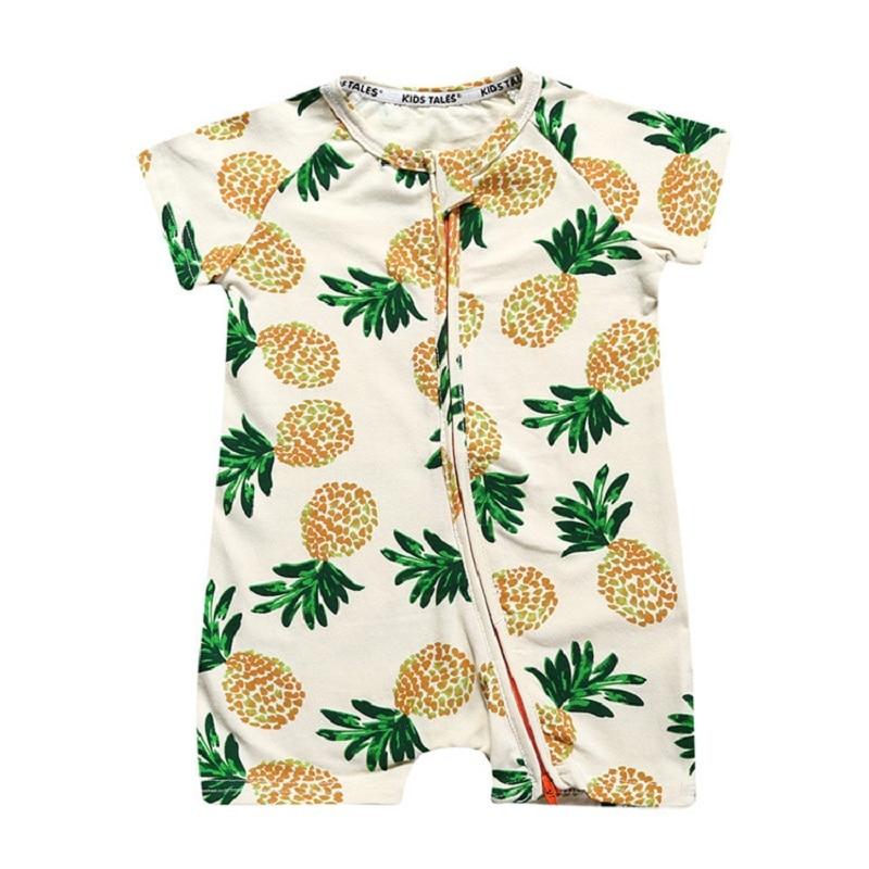 Brand Summer Kids Overalls With Short Sleeve Newborn Girls Clothes Jumpsuits Newborn Boy Clothes Roupas Bebes vestidos