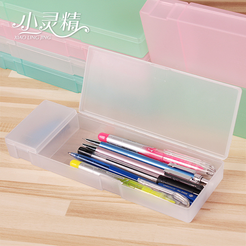 Our factory direct Muji plastic pencil case 21*7*2.5cm 50g high ...