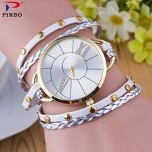New Brand Eye Gemstone Luxury Watches font b Women b font Gold Bracelet Watch font b