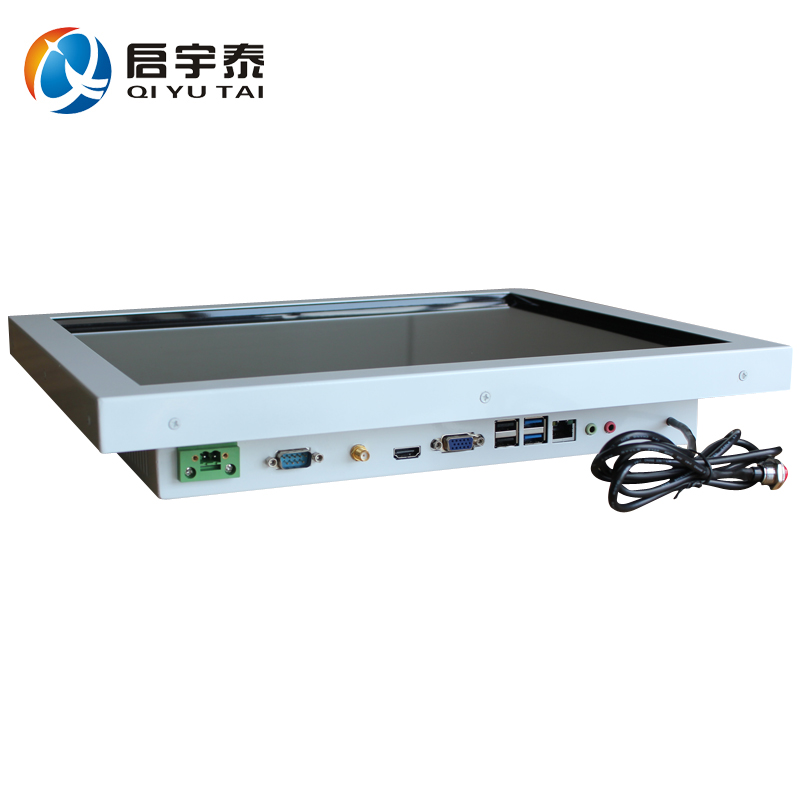 OEM 17 industrial all in one pc touch screen with Intel I7 4790 3.6GHz cpu 2GB ddr3 32G SSD tablet PC Resolution 1280x1024