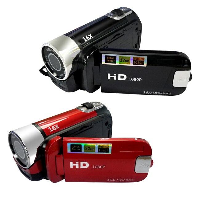 16MP 2.7 inch Video Máy Quay Phim HD 1080 p Cầm Tay Máy Ảnh Kỹ Thuật Số 16X Kỹ Thuật Số Zoom Anti-shake DV Máy Quay Phim Kỹ Thuật Số video Máy Ảnh