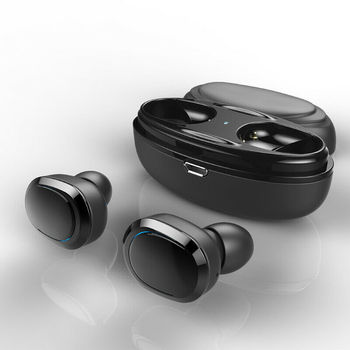 2019 Hot Sale Bluetooth 4.1 Wireless Headset TWS Earbuds Twins In Ear Earphone with Charger Box