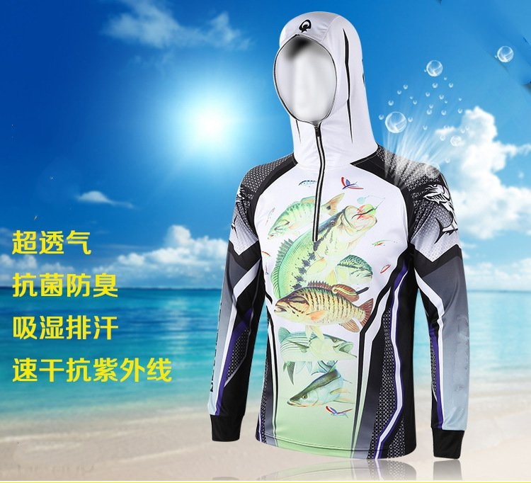 Outdoor sun protection clothing for men and women anti-UV outdoor sports clothing