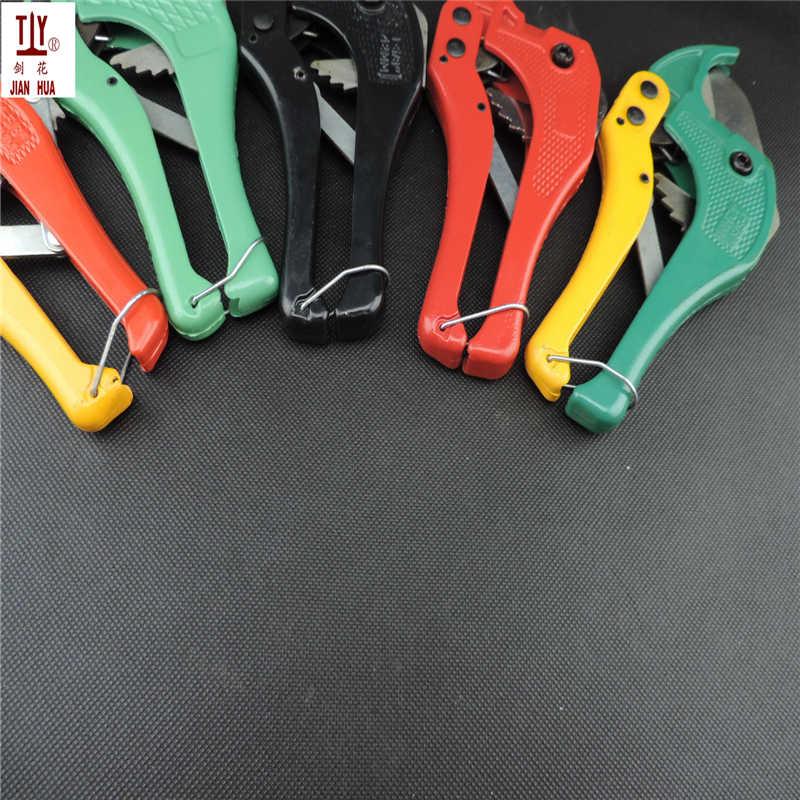 Comprar procesamiento nuevo de 42mm PVC PPR tubo cortador tijeras cuchillo corte trinquete herramienta de fontanería
