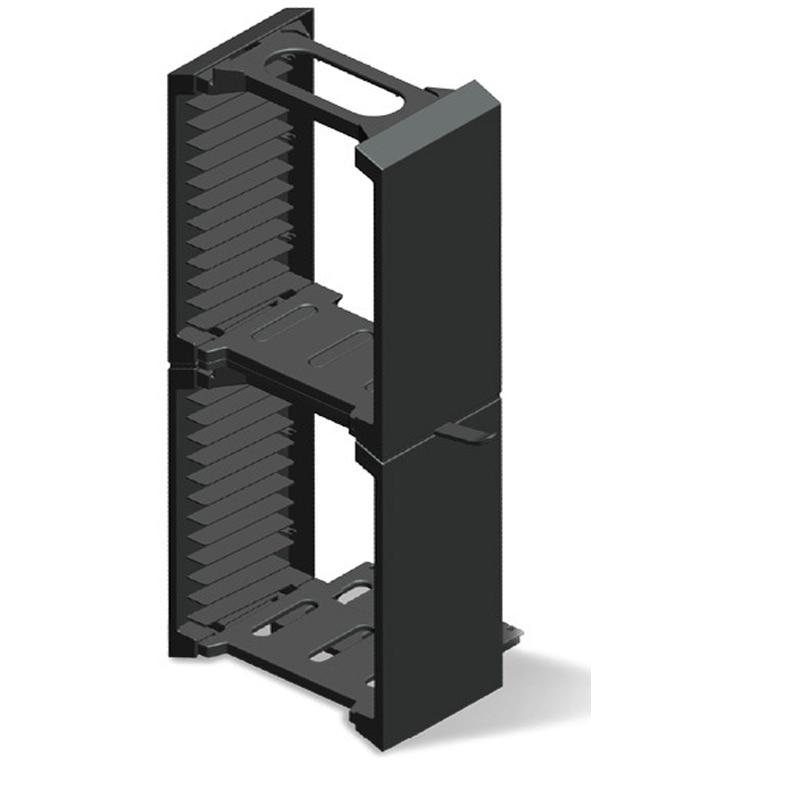 Купить с кэшбэком 24 Game CD Discs Storage Seat Bracket Double 2 layer Storage Stand For PS4 Pro/PS4 Slim /PS4/ONE S/VR  Glasses Headset Holder