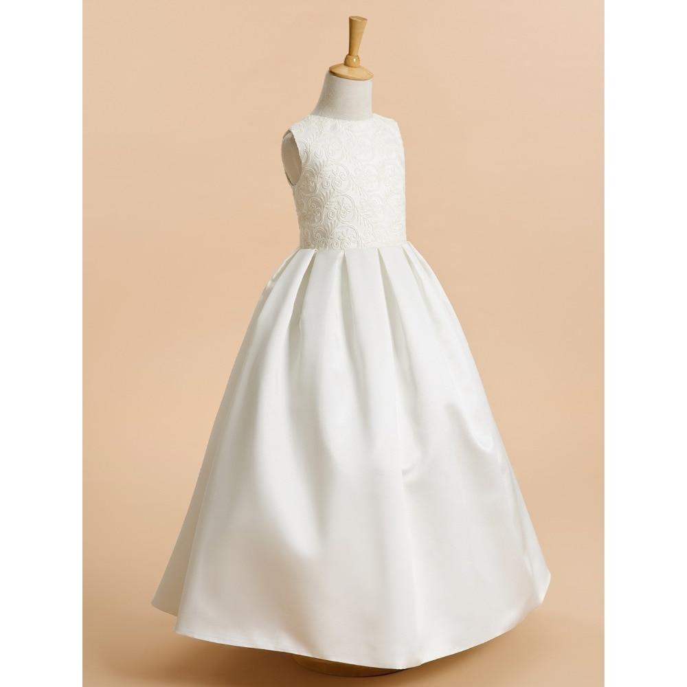 LAN TING BRIDE A-line kotníkové délky Květinové dámské šaty - Šaty pro svatební hostiny - Fotografie 3