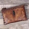 REGEM 2016 women Genuine leather casual top-handle bags shoulder Clutch