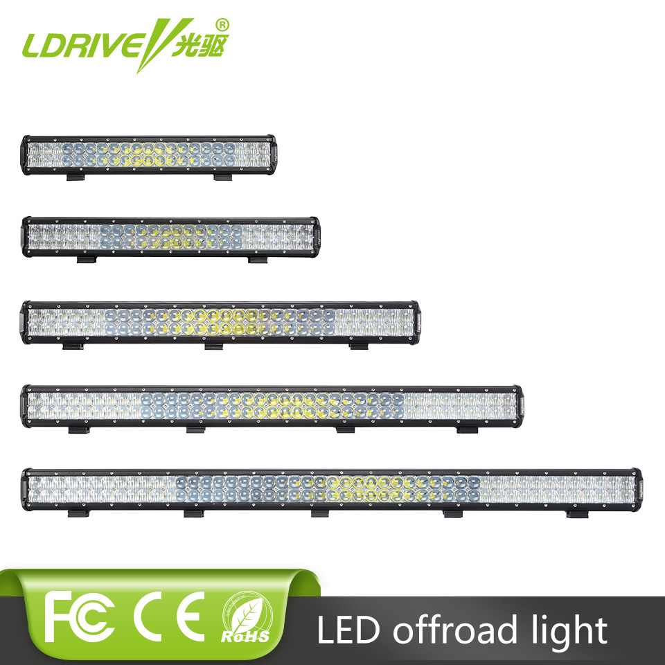 "5D Lens 210W 240W 300W 330W 390W 480W LED Work Light Bar 20"" 23"" 29"" 31"" 37"" 45"" Offroad LED Driving Headlight Fog Lamp"