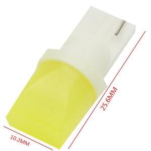 Image 1 - 1PC LED W5W T10 194 168 W5W COB Led Parking Bulb Auto Wedge Clearance Lamp White License Light Bulbs blue green