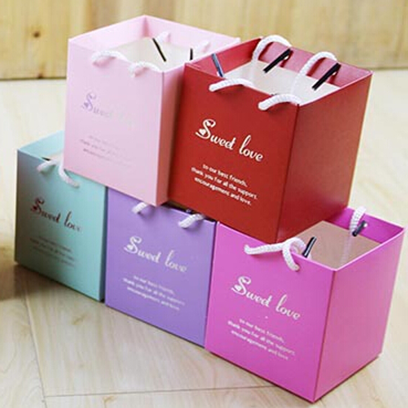 NEW ARRIVAL COLORFUL SMALL GIFT BAG FOR WEDDING DECORATION MARIAGE PARTY FAVOR BAG FOR CHOCOOLATE & CANDY & BISCUIT SHOPPING BAG