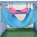 Warm Plush Pano Hammock Hanging Bed Gaiola Guiné Porco Coelho Chinchilla Hamster Acessórios Brinquedos do animal de Estimação S M L