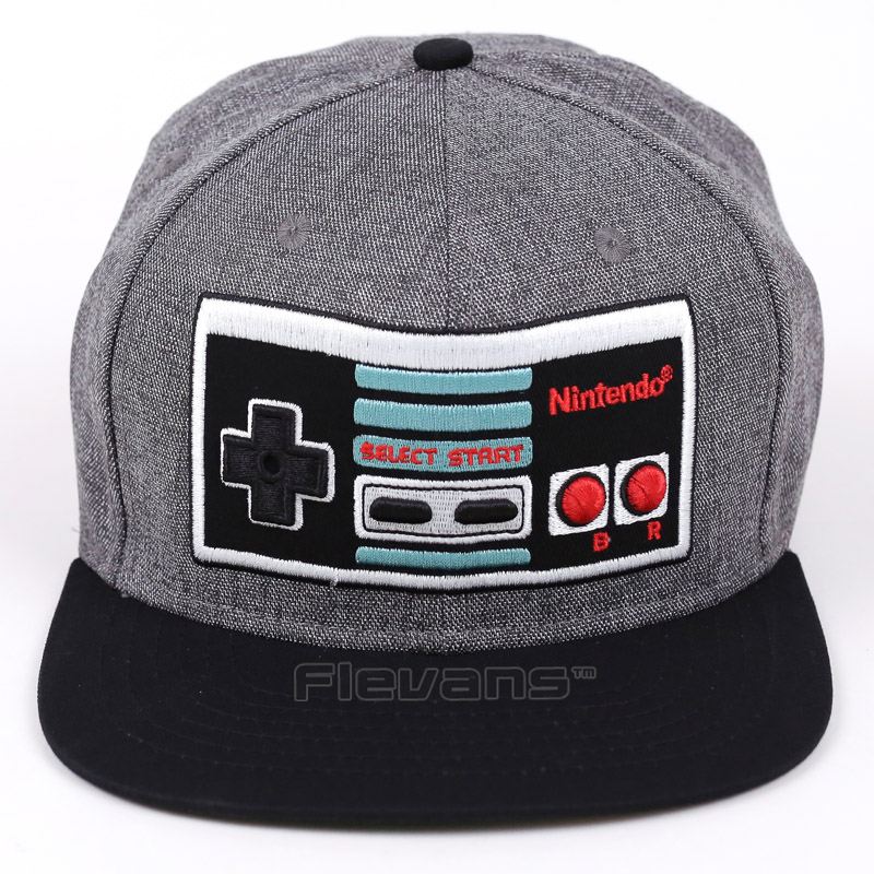 Game Console Creative Design Snapback   Caps   Cool Hat Adult Letter Retro   Baseball     Cap   Bboy Hip-hop Hats for Men Women 3 Styles