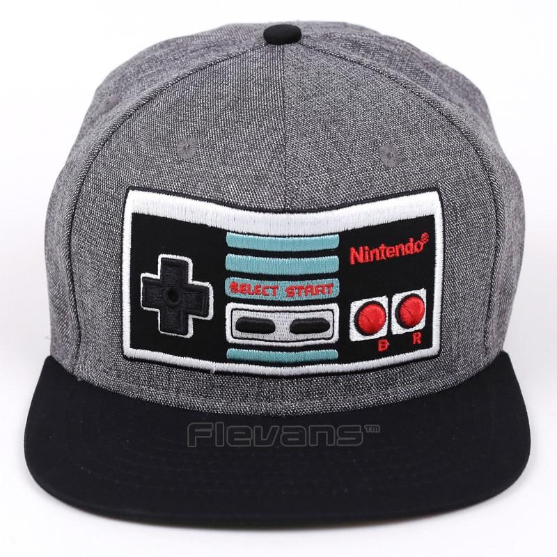 Game Console Creative Design Snapback Caps