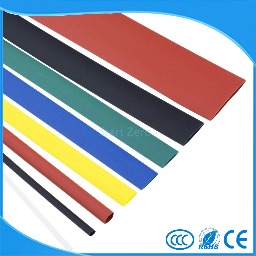 7 color 1m electronic heat shrink tubing 21 heat shrinkable tubein cable sleeves from home improvement on