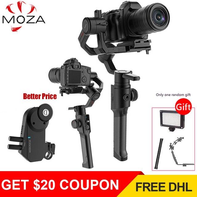 Gudsen Moza Air 2 DSLR stabilisateur de caméra 3-Axes De Poche Cardan Steadycam pour Sony Canon Nikon GH4 PK DJI Ronin S Moza Air 2