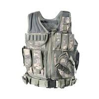N Men Tactical Vest Military 600D Oxford Swat Vest Field Battle Airsoft Molle Combat Assault Plate Carrier Hunting Vest 5 Colors
