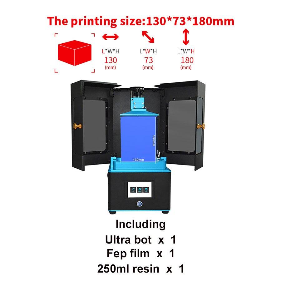 Tronxy Ultrabot UV photopolymérisation imprimante 3D grande taille en aluminium moulage conception UV LCD 2 K sérigraphie résine photosensible