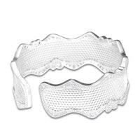 FANDOLA Bangles Lace Of Love Bracelet Cuff Bangle Original 925 Sterling Silver Bracelets Bangles for Women Bracelet Manchette