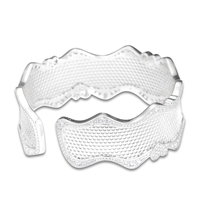 FANDOLA Bangles Lace Of Love Bracelet Cuff Bangle Original 925 Sterling Silver Bracelets Bangles for Women Bracelet Manchette