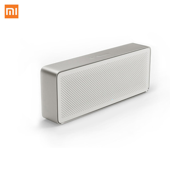 Original Xiaomi Mi Bluetooth Speaker Square Box 2 Stereo Portable Bluetooth 4.2 High Definition Sound Quality 10h Play Music AUX Portable Speakers