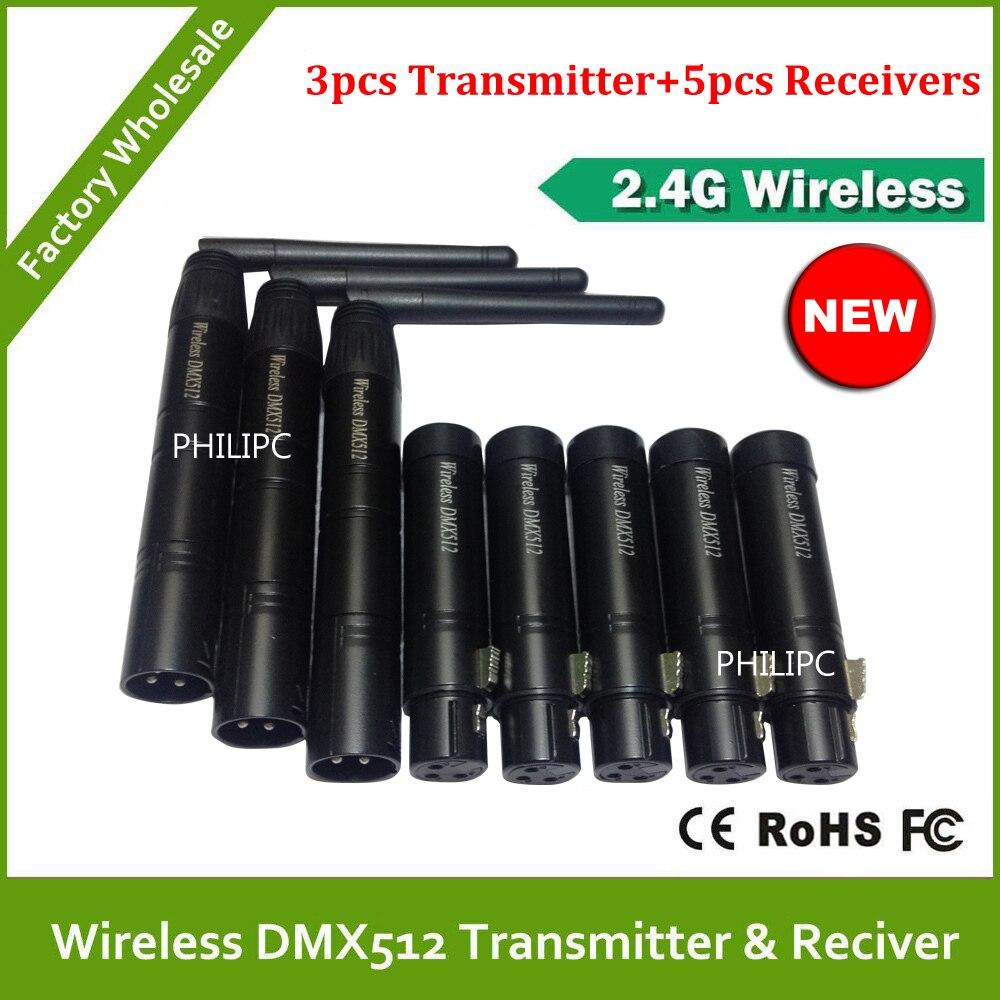 DHL Free Shipping wireless DMX controller,DMX Wireless Controller,Use on stage light,DJ light,par light