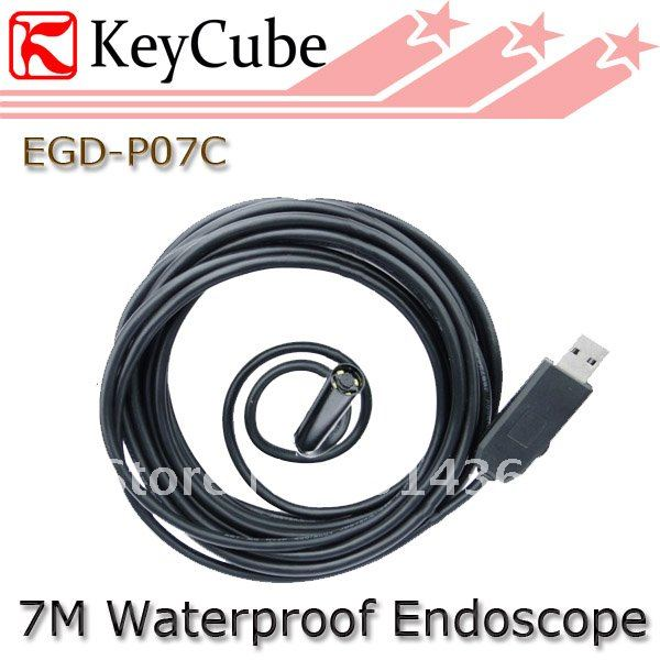 Mini USB Endoscope Waterproof Borescope Snake Inspection Camera 7M Free Shipping free shipping usb pipe inspection camera borescope endoscope tube snake waterproof with 7mm diameter 6led te e2a