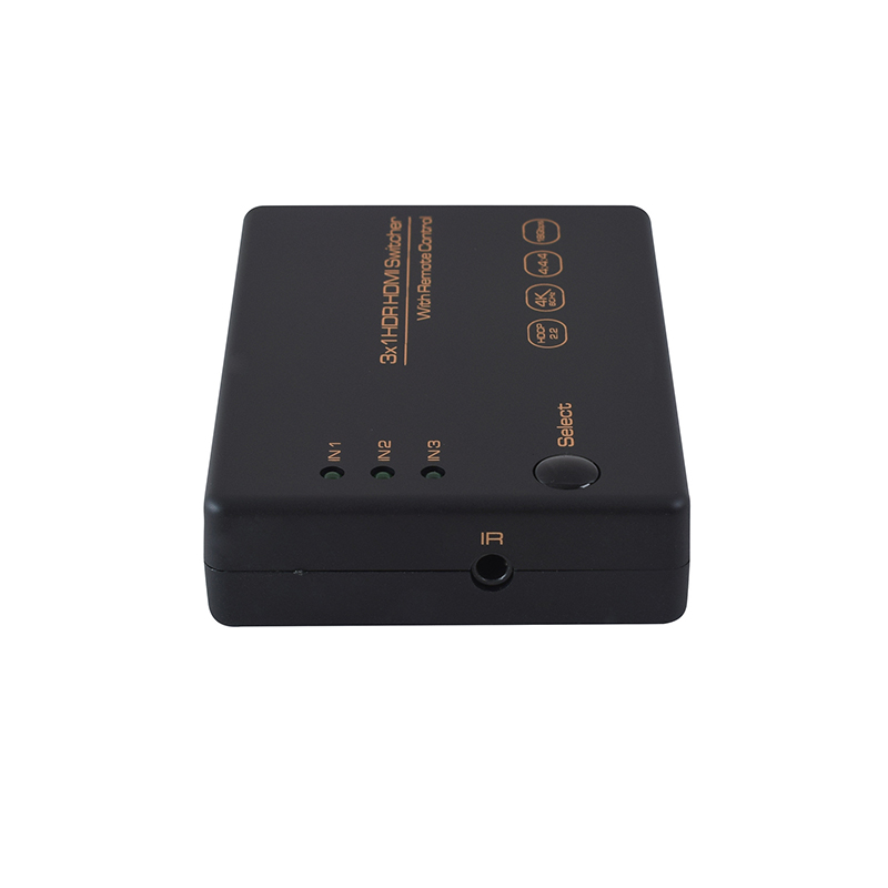 High Quality 5 Port HDMI 4K Switch Switcher Selector Splitter Hub IR Remote For HDTV